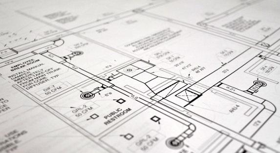 Mechanical Plan close up